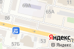 Схема проезда до компании Мия в Белгороде