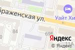 Схема проезда до компании Автоюрист в Белгороде