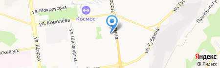 Лаура на карте Белгорода