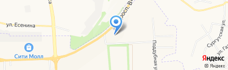 Приосколье на карте Белгорода