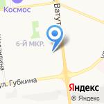 Внедорожный магазин №1 на карте Белгорода