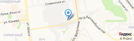 888 на карте Белгорода