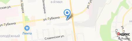 ФАРМАМЕД на карте Белгорода