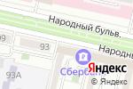 Схема проезда до компании УКБ Белгородсоцбанк, ПАО в Белгороде