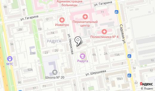 Консалтинг Центр. Схема проезда в Белгороде