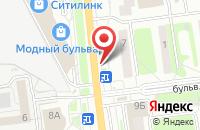 Схема проезда до компании МНЕБУКЕТ.РФ в Белгороде