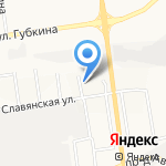 ДагКамень на карте Белгорода
