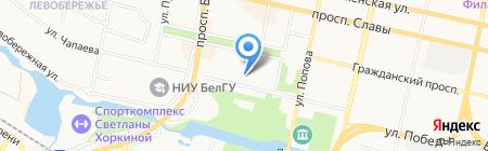 Белгородская таможня на карте Белгорода