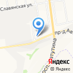 БЕРЕГ на карте Белгорода