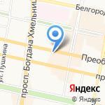 Трубка Белгород на карте Белгорода
