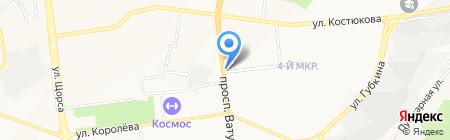 Инфо-пресса на карте Белгорода