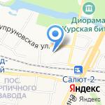 Белгородский Административный Центр на карте Белгорода