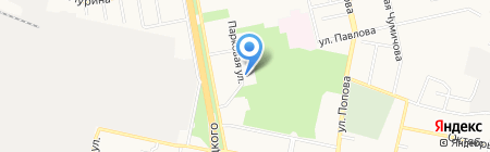 Феликс на карте Белгорода