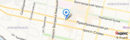 Студия Руслана Кокорева на карте Белгорода