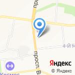 Экспресс на карте Белгорода