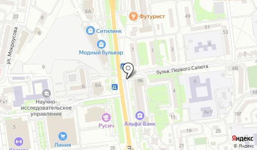 Светлячок. Схема проезда в Белгороде