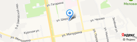 Шоколад на карте Белгорода