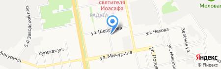 Магазин овощей и фруктов на карте Белгорода
