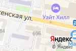 Схема проезда до компании Праздничный город в Белгороде