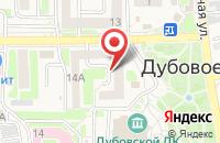 Схема проезда до компании Твой праздник в Дубовом