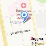 Мойдодыр на карте Белгорода