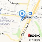 Золушка на карте Белгорода
