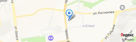 Угол на карте Белгорода
