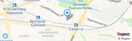 Премиум Принт Медиа на карте Белгорода