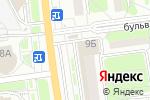 Схема проезда до компании Муссон в Белгороде