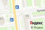 Схема проезда до компании Смак в Белгороде