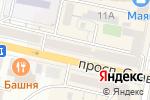 Схема проезда до компании Русский доктор в Белгороде