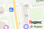 Схема проезда до компании Индейкин дворик в Белгороде