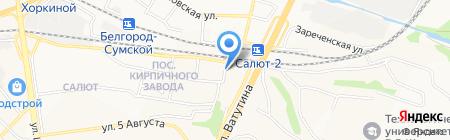 Дальние Дали на карте Белгорода