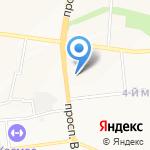 Мастер-мебель на карте Белгорода