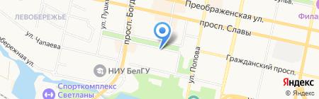 Ароматная чашка на карте Белгорода