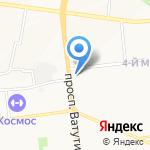РЕТ на карте Белгорода