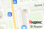 Схема проезда до компании RemLine в Белгороде
