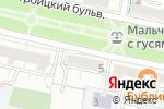 Схема проезда до компании Ваше Путешествие в Белгороде