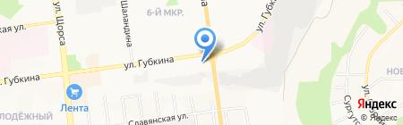 Матисс на карте Белгорода
