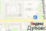 Схема проезда до компании Инфо-пресса в Дубовом