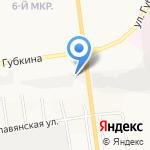 Пал Кирилыч на карте Белгорода