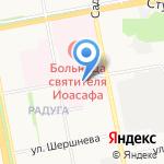 Женская консультация на карте Белгорода