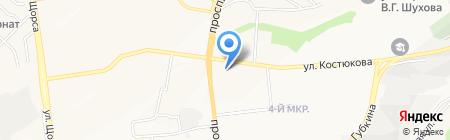 Арена на карте Белгорода