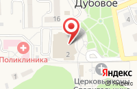 Схема проезда до компании Эдем в Дубовом