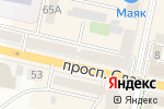Схема проезда до компании Скорпион в Белгороде