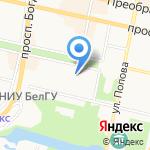 ИнтерЛингва на карте Белгорода