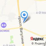 Северный ветер на карте Белгорода