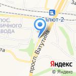 Купидон на карте Белгорода
