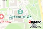 Схема проезда до компании Дубовской дворец культуры в Дубовом
