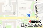 Схема проезда до компании Магазин овощей и фруктов в Дубовом